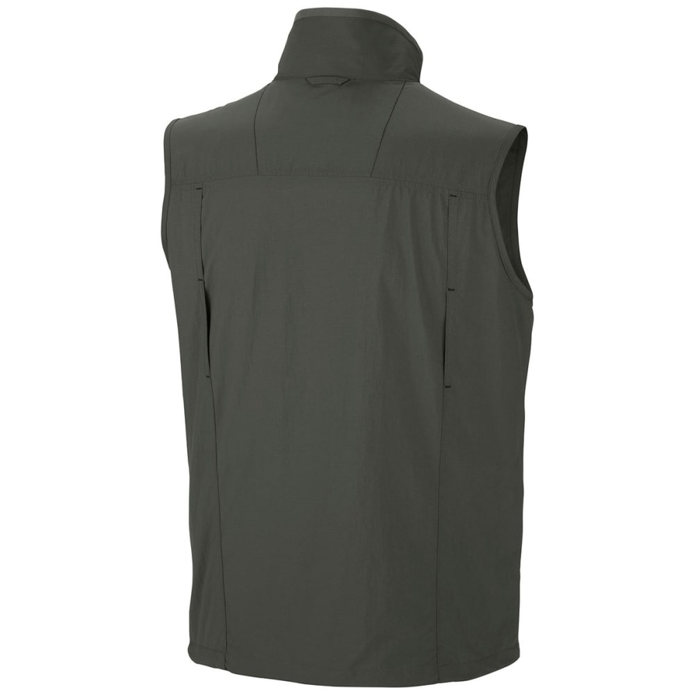 COLUMBIA Men's Silver Ridge Vest - 339-GRAVEL