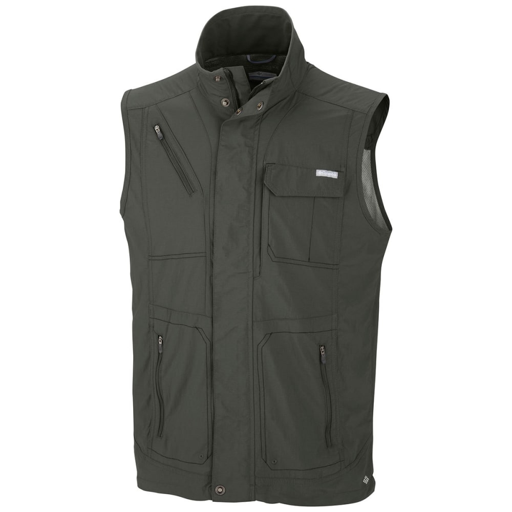 COLUMBIA Men's Silver Ridge™ Vest - 339-GRAVEL