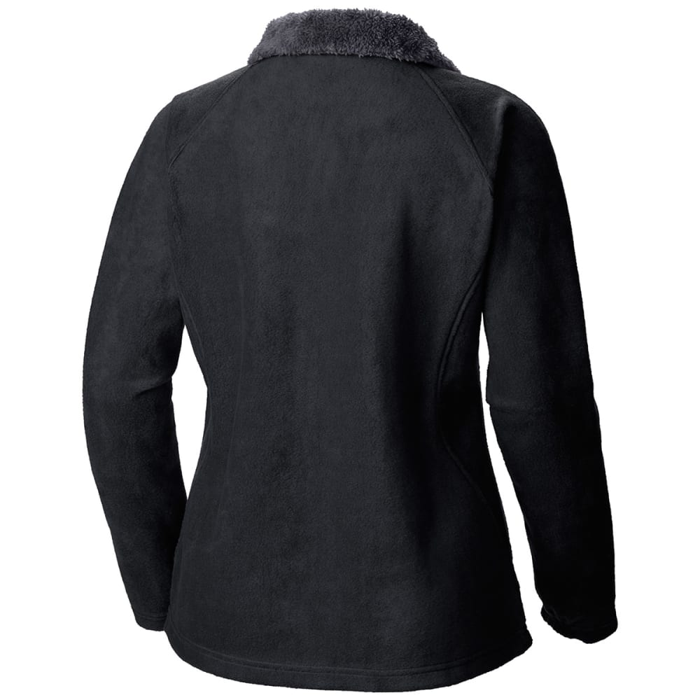 COLUMBIA Women's Dotswarm II Fleece Full Zip Jacket - 010-BLACK
