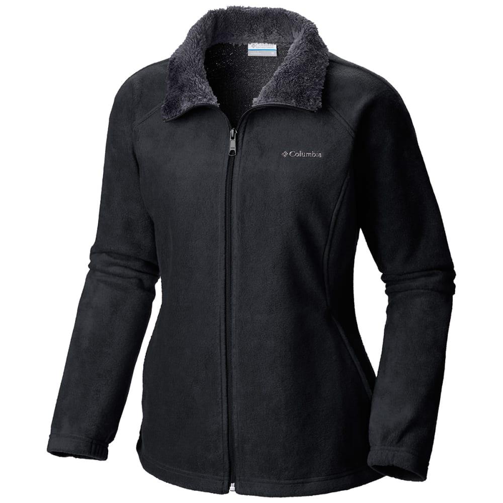 COLUMBIA Women's Dotswarm II Fleece Full Zip Jacket - 010-BLACK