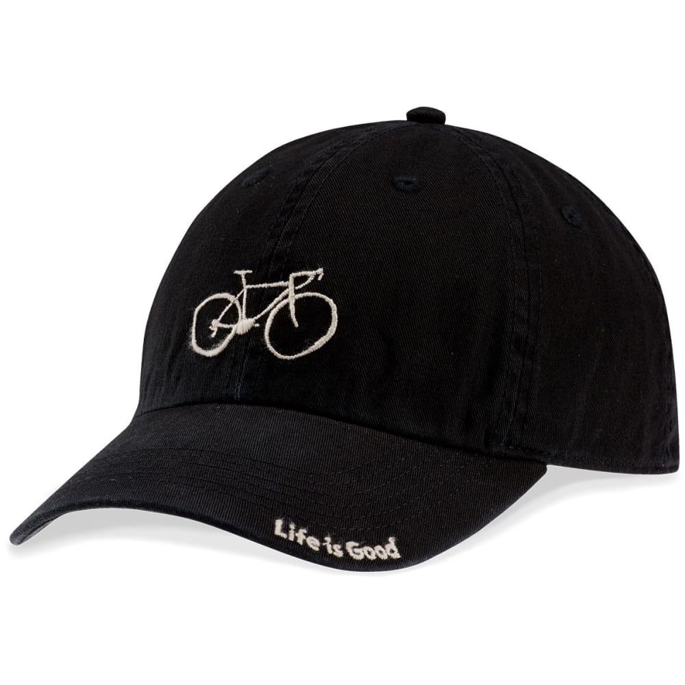 LIFE IS GOOD Men's Sketched Bike Chill Cap - NIGHT BLACK