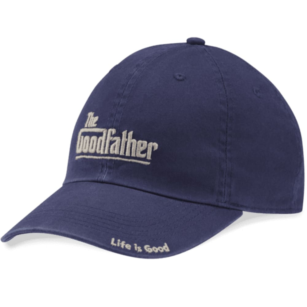 LIFE IS GOOD Men's Goodfather Chill Cap - DARKEST BLUE