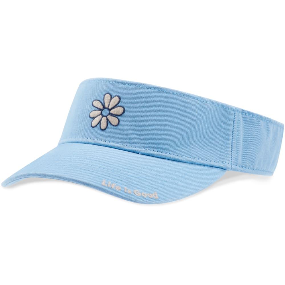 LIFE IS GOOD Daisy Visor - POWDER BLUE