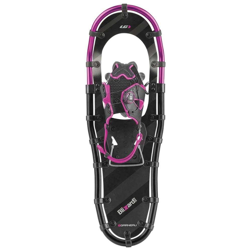 GARNEAU Women's Blizzard II Snowshoes, Size 822 - BLACK/GRAY/PURPLE