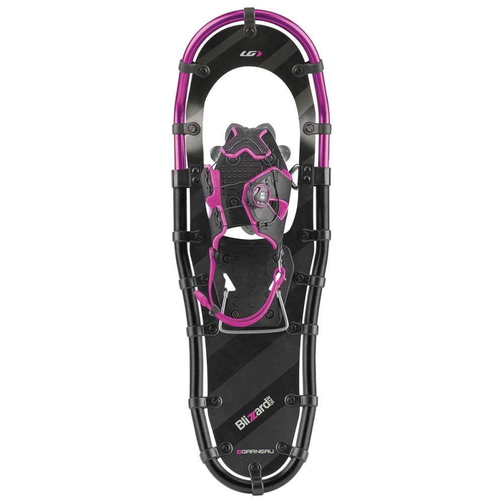 GARNEAU Women's Blizzard II Snowshoes, Size 825 - BLACK/GRAY/PURPLE