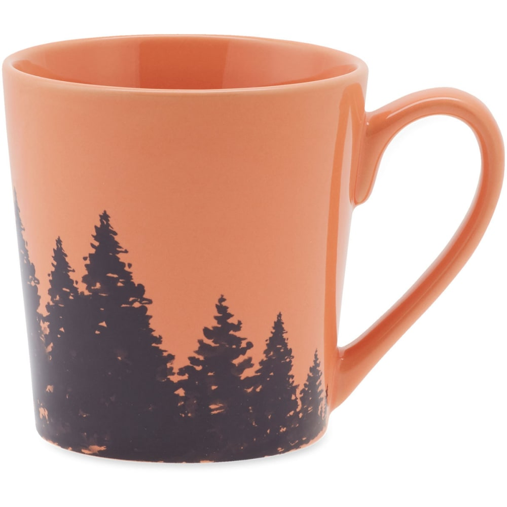 LIFE IS GOOD Tree Wrap Everyday Mug - FRESH CORAL