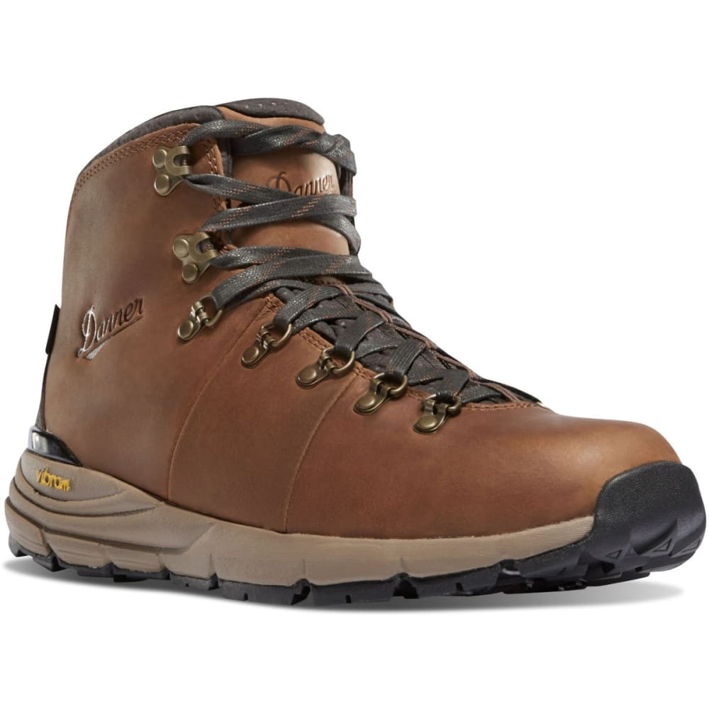 DANNER Men's Mountain 600 Waterproof Hiking Boots, Rich Brown - RICH BROWN