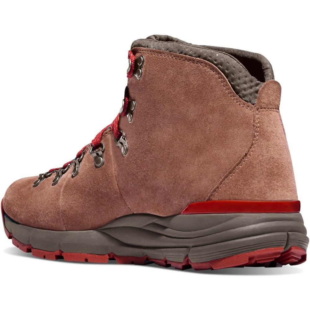 DANNER Men's Mountain 600 Waterproof Hiking Boots, Brown/Red - BROWN/RED