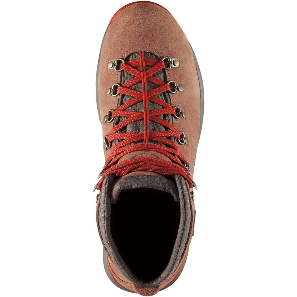 DANNER Men's Mountain 600 Waterproof Hiking Boots, Brown/Red - BROWN/RED