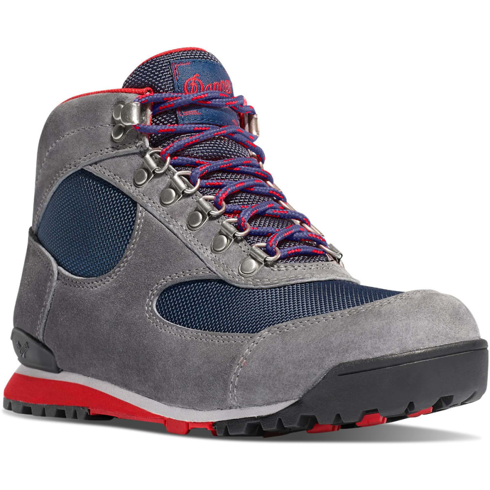 Danner Women S Jag Waterproof Hiking Boots Gray Blue Wing