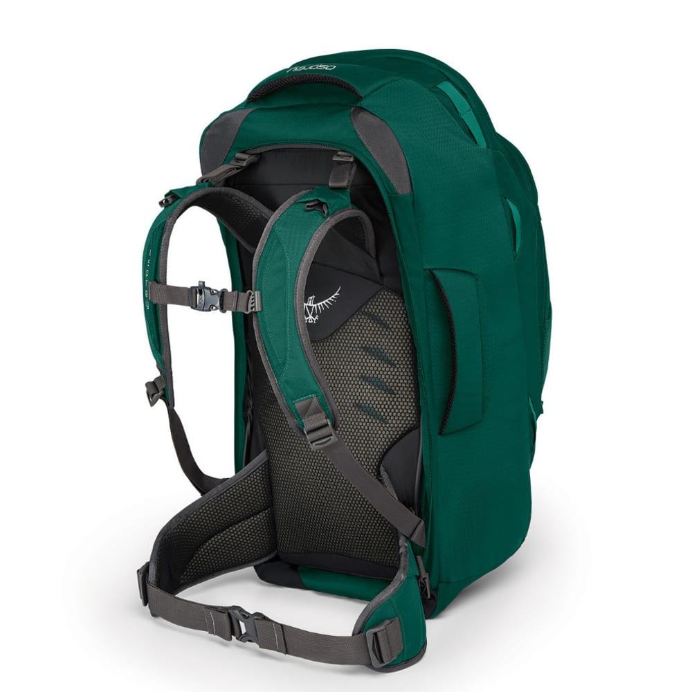 OSPREY Women's Fairview 55 Travel Pack - RAINFOREST GREEN
