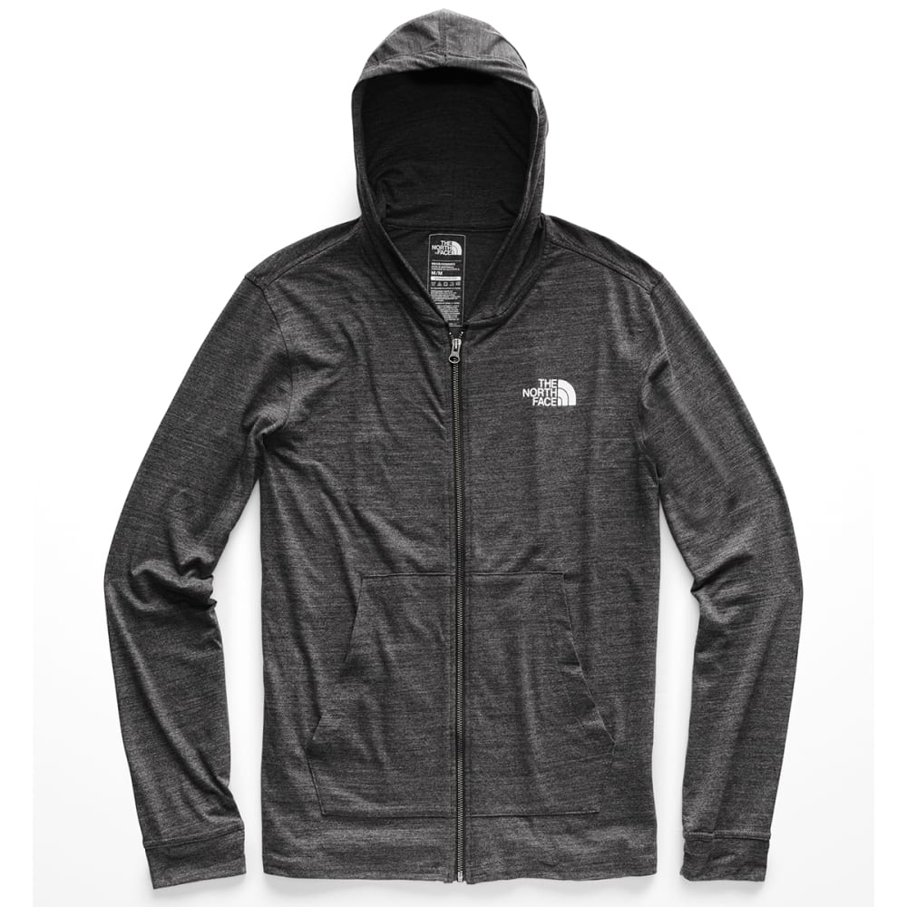 THE NORTH FACE Men's Americana Tri-Blend Full-Zip Hoodie - DYZ-TNF DARK GREY HT
