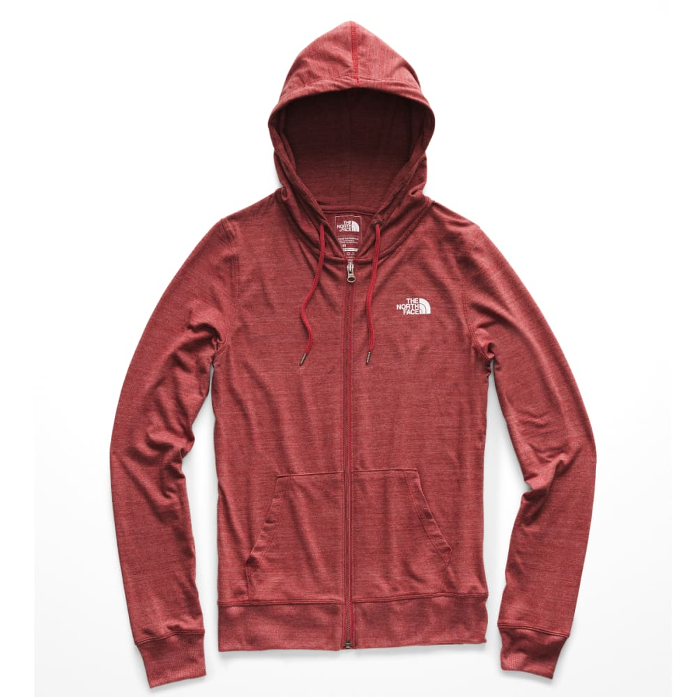 THE NORTH FACE Women's Americana Tri-Blend Full Zip Hoodie - HJK-CARDINAL RED HTR