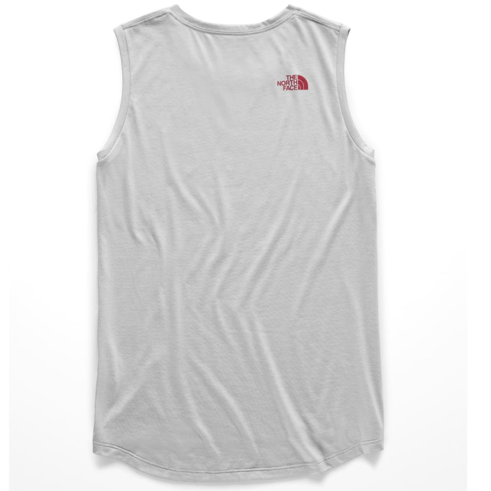 THE NORTH FACE Women's Americana Tri-Blend Track Tank Top - DYX-TNF LGT GREY HTR