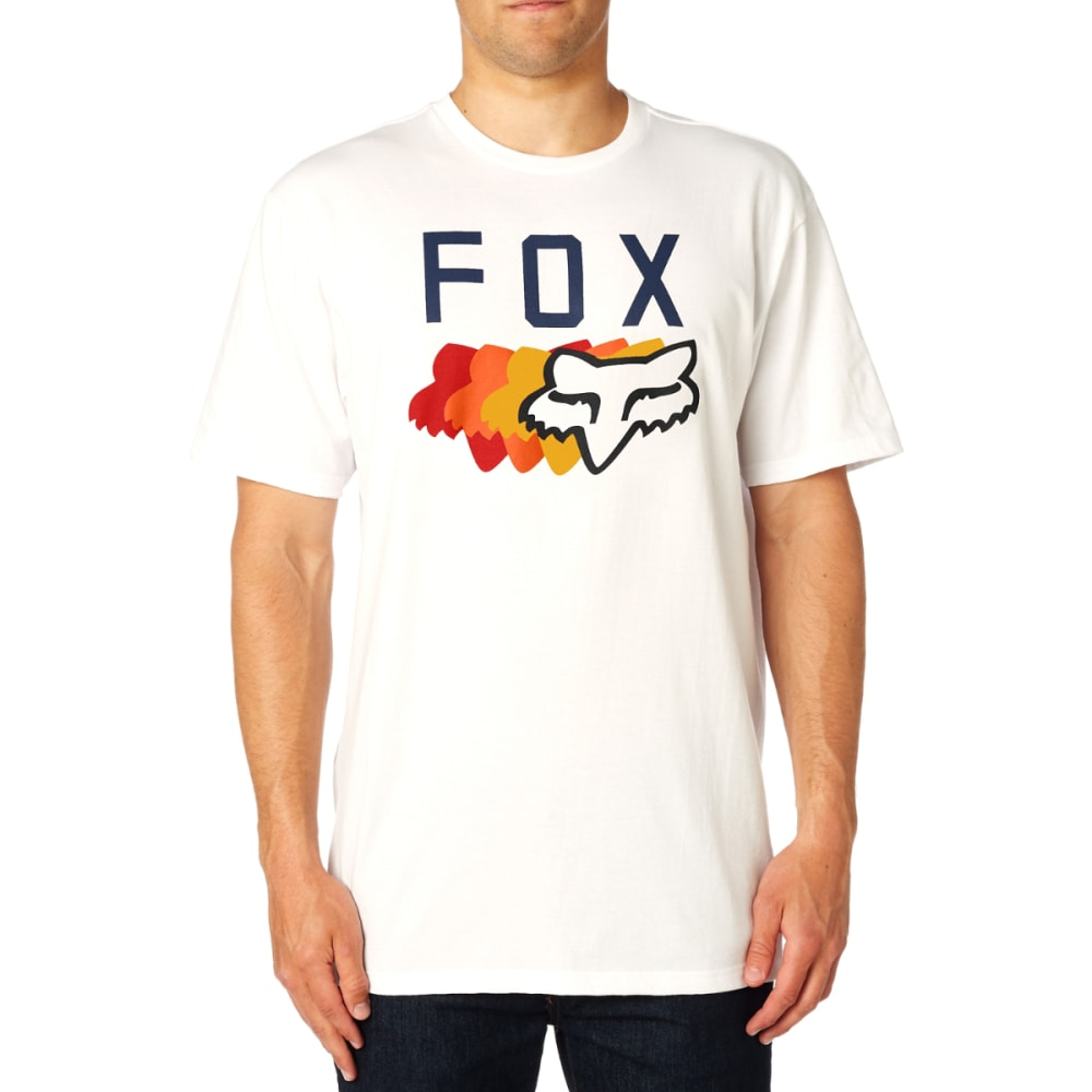 FOX Men's 74 Wins Basic Tee Shirt - WHITE-190