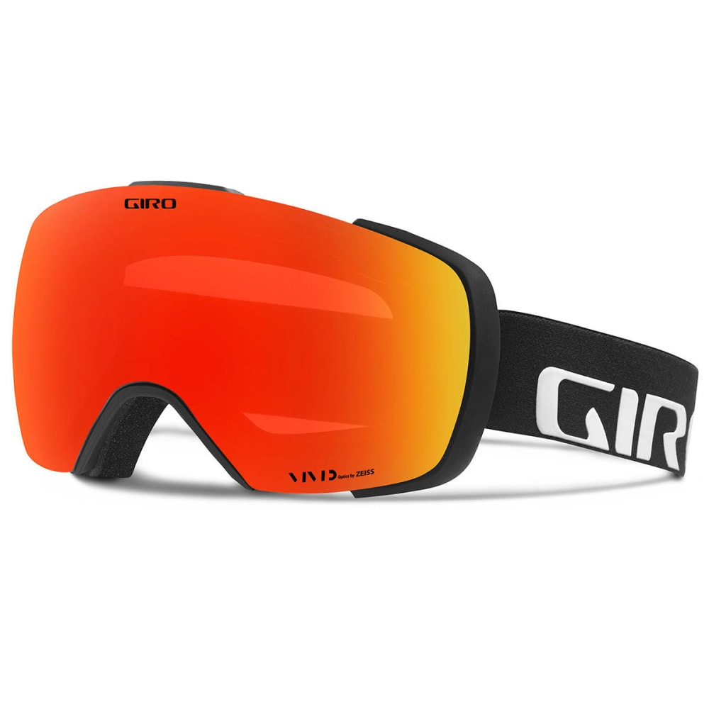 GIRO Contact Snow Goggles - BLKWDMK/VIVID EMBER