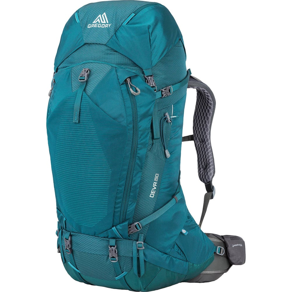 GREGORY Women's Deva 60 Pack - ANTIQUA GREEN