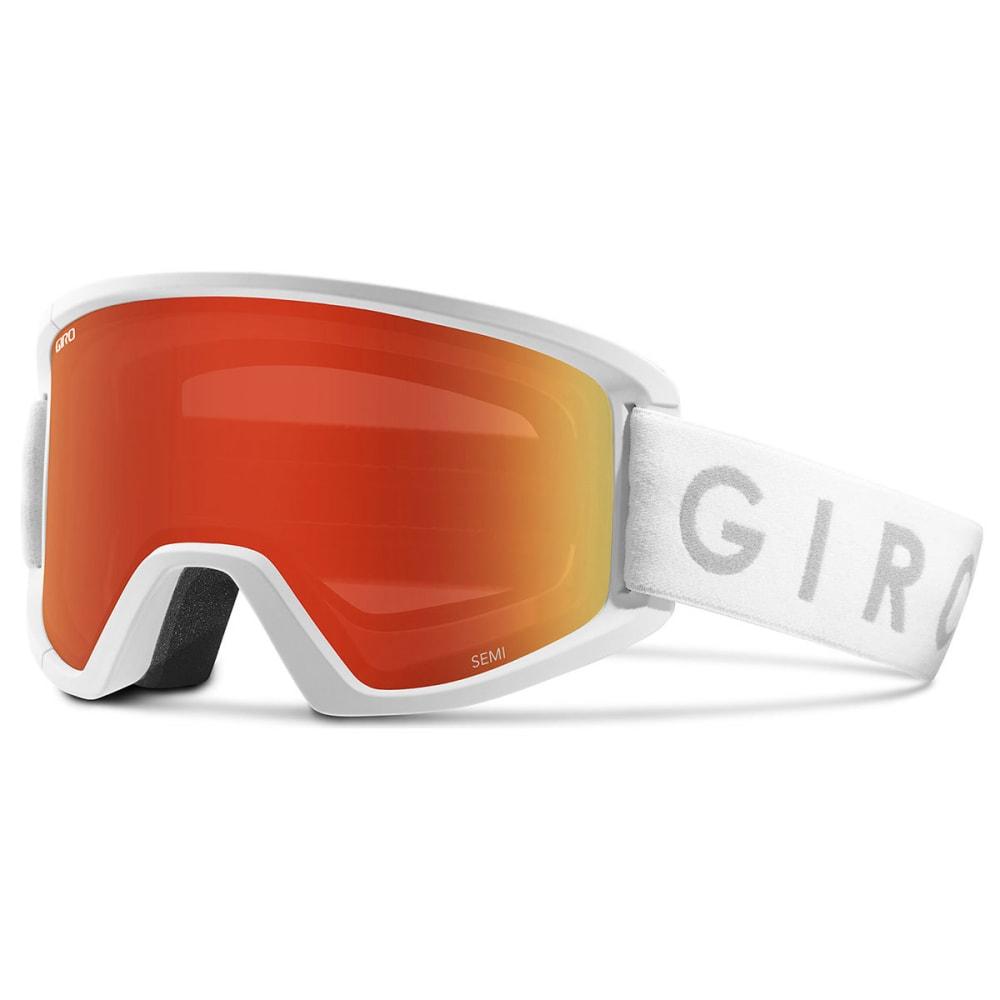 GIRO Semi Snow Goggles - WHITECORE/AMBRSCAR