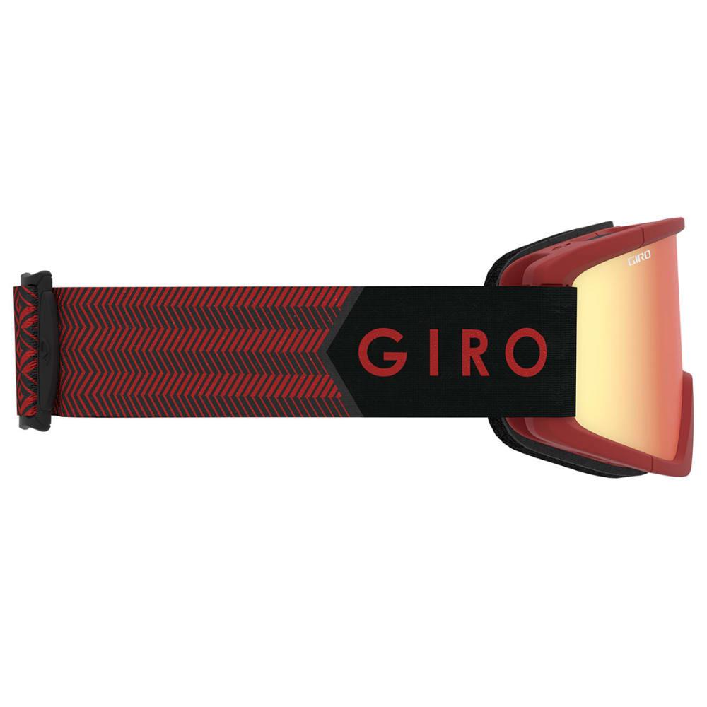 GIRO Semi Snow Goggles - DARK RED SIERRA