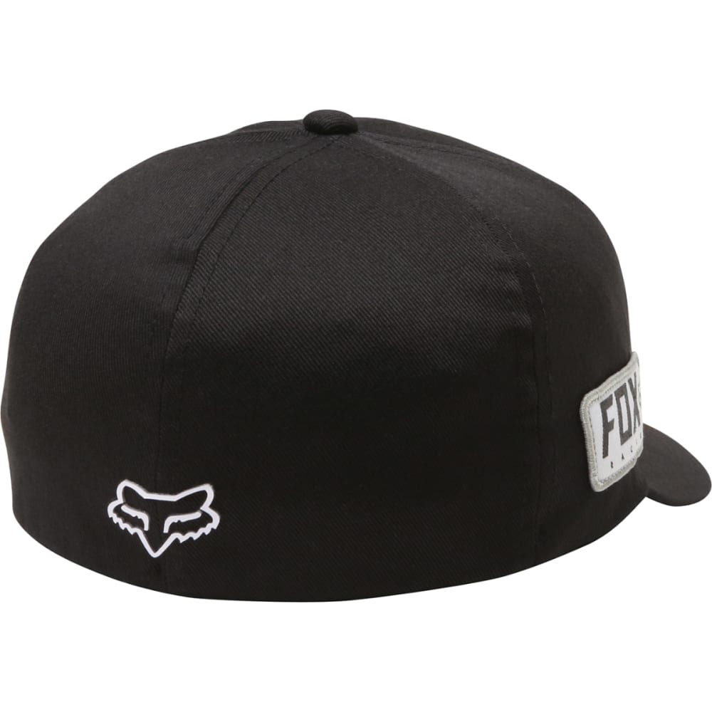 FOX RACING Guys' Honda Flexfit Hat - BLACK-001