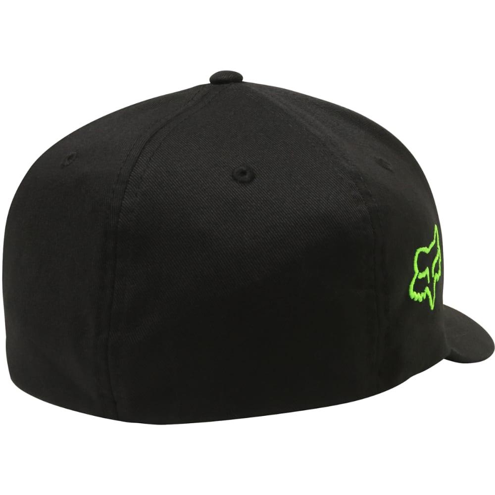 FOX RACING Guys' Fox x Pro Circuit Flexfit Hat - BLACK-001