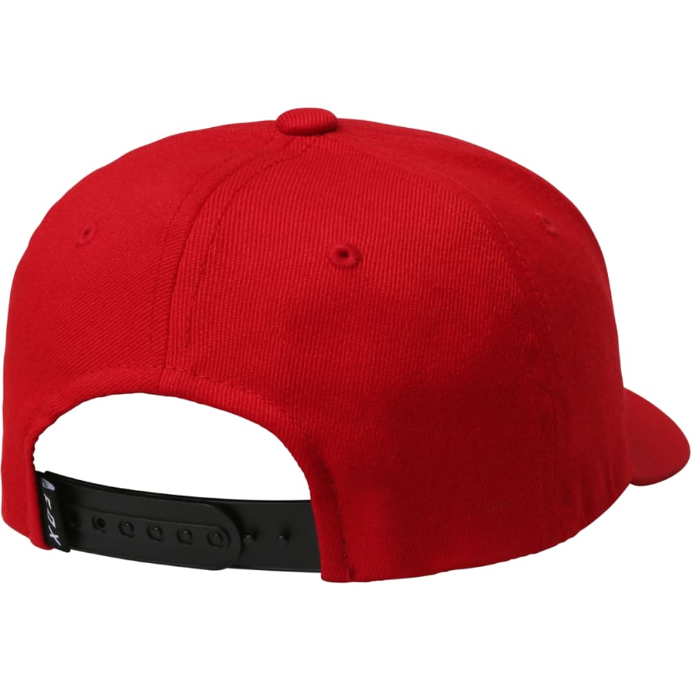 FOX RACING Guys' Legacy Moth 110 Snapback Hat - DK RED-208