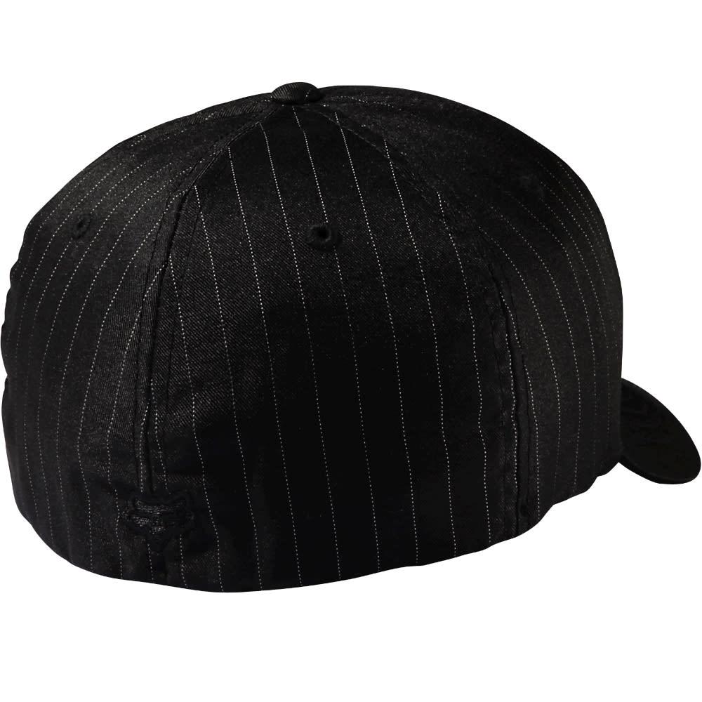 FOX RACING Guys' Flex 45 Flexfit Hat - BLK/PINSTRP-515