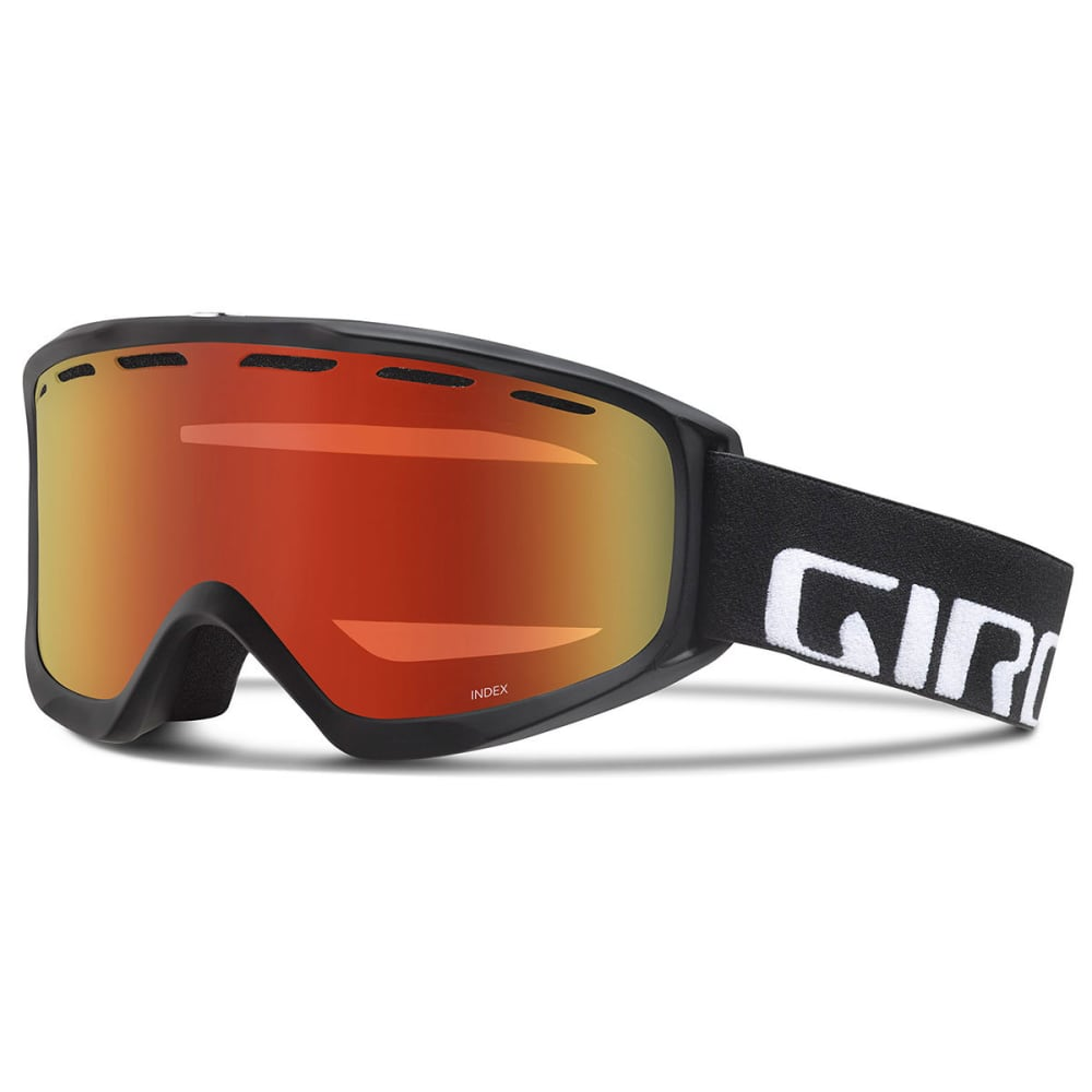 GIRO Index OTG Snow Goggles - BKWDMK/AMBRSCLT