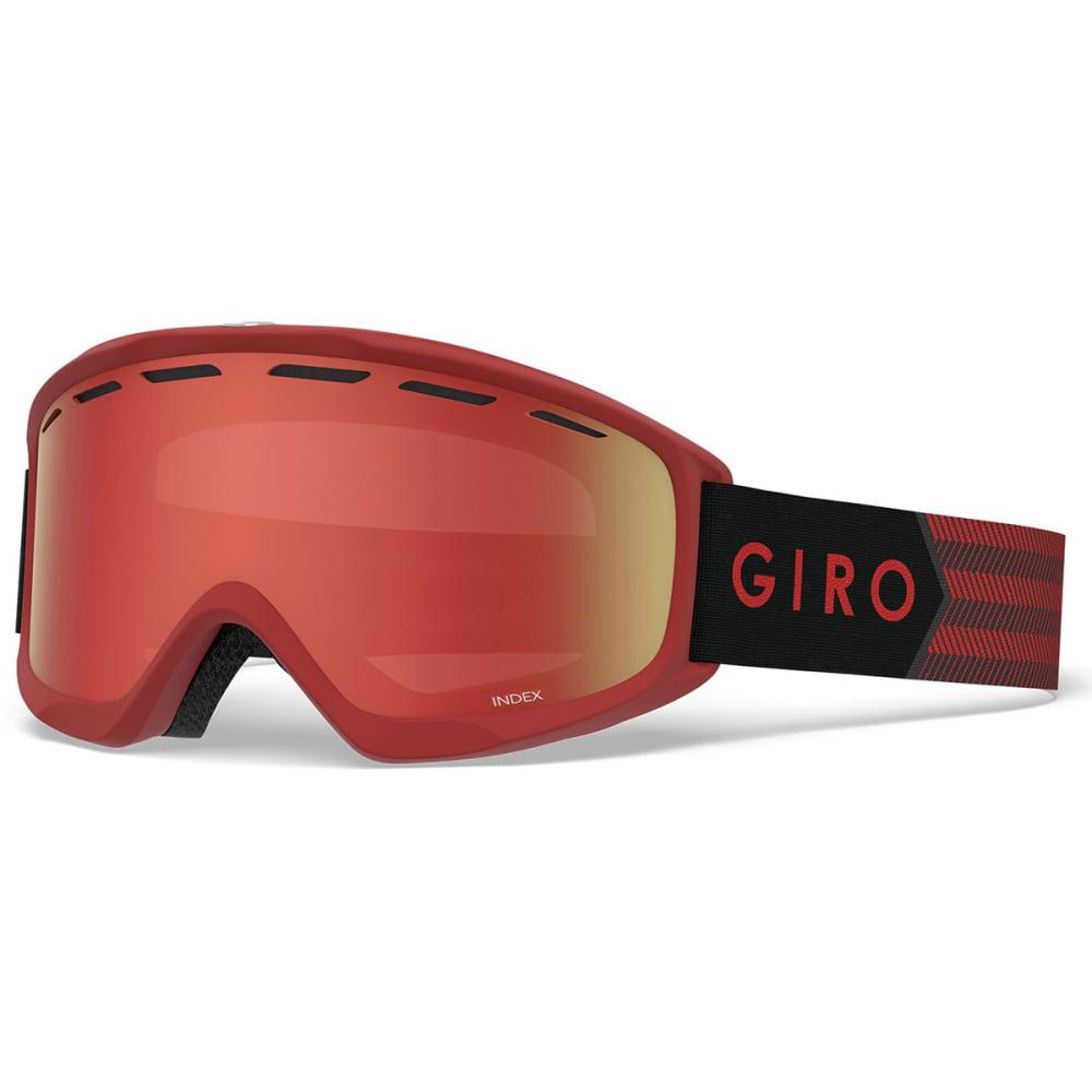 GIRO Index OTG Snow Goggles - DARK RED SIERRA