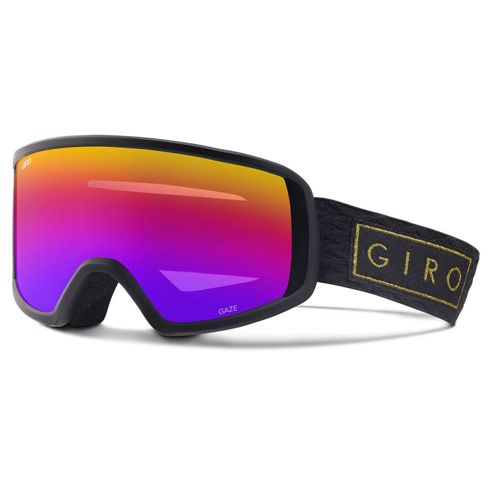 GIRO Women's Gaze Snow Goggles - BLACKGLDBAR/ROSESPEC