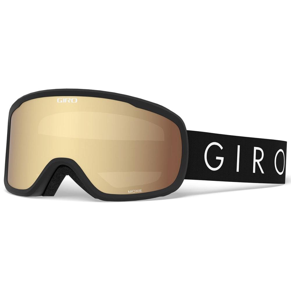 GIRO Women's Moxie Snow Goggles - BLKCORLIT/AMBER GOLD