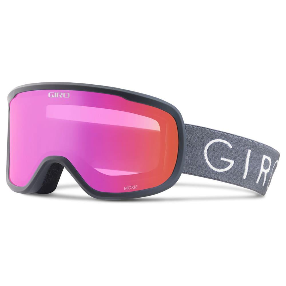 GIRO Women's Moxie Snow Goggles - TITANIUM/AMBPNK