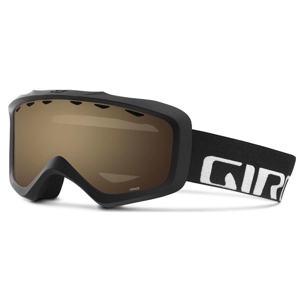 GIRO Youth Grade Snow Goggles - BLKWRDMRK/AMBROSE