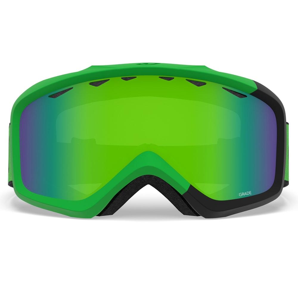 GIRO Youth Grade Snow Goggles - BRIGHT GREEN