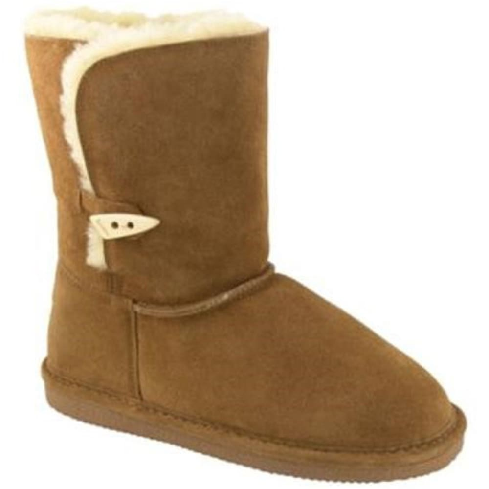 BEARPAW Women's Victorian One-Toggle Mid Boots - HICKORY-220