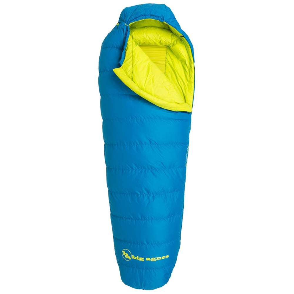BIG AGNES Sandhoffer 20 Sleeping Bag, Long - BLUE