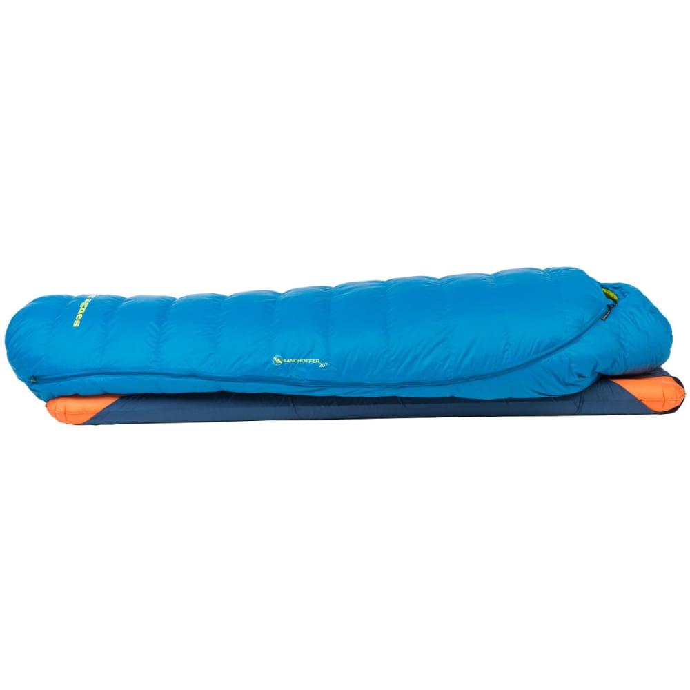 BIG AGNES Sandhoffer 20 Sleeping Bag, Long - BLUE