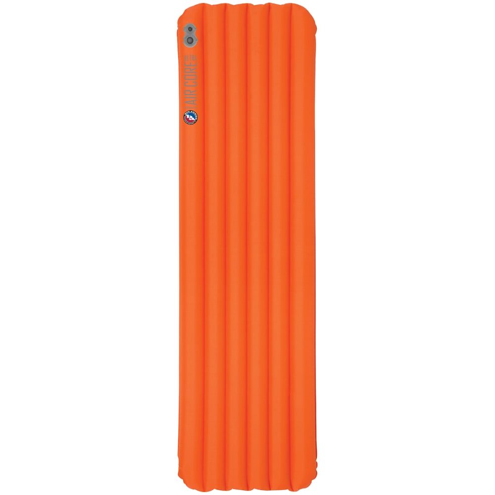 BIG AGNES Insulated Air Core Ultra Sleeping Pad, Wide Long - ORANGE