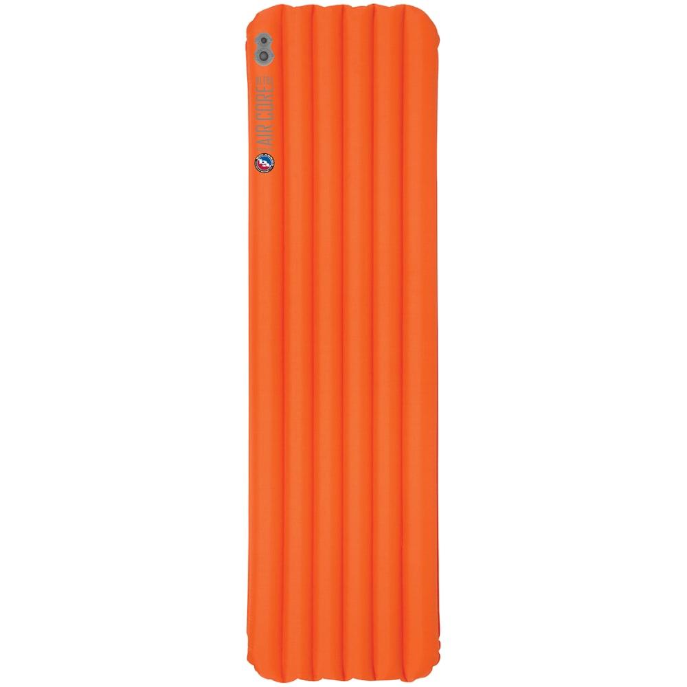 BIG AGNES Insulated Air Core Ultra Sleeping Pad, Wide Long - ORANGE