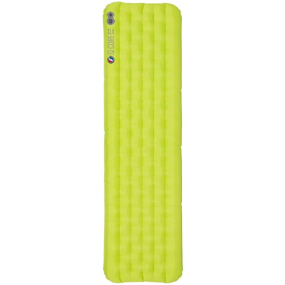 BIG AGNES Q-Core SLX Sleeping Pad, Petite - LIME GREEN