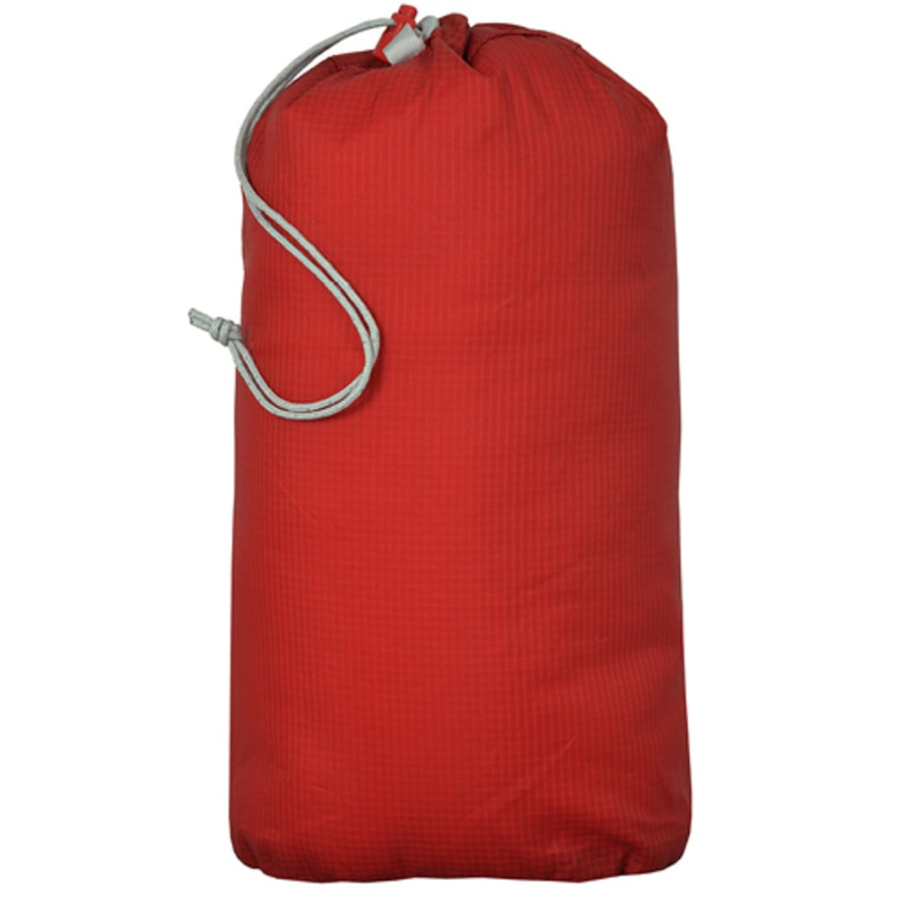 BIG AGNES Essentials Stuff Sacks - LIGHT GREY/RED/BLUE