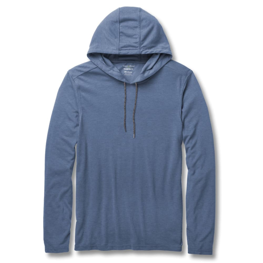 TOAD & CO. Men's Debug Solaer Hoodie - 402-BRIGHT INDIGO
