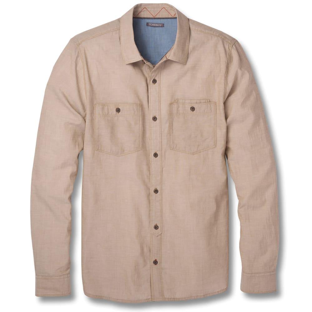TOAD & CO. Men's Honcho Dos Long-Sleeve Shirt - 243-SEAL BROWN