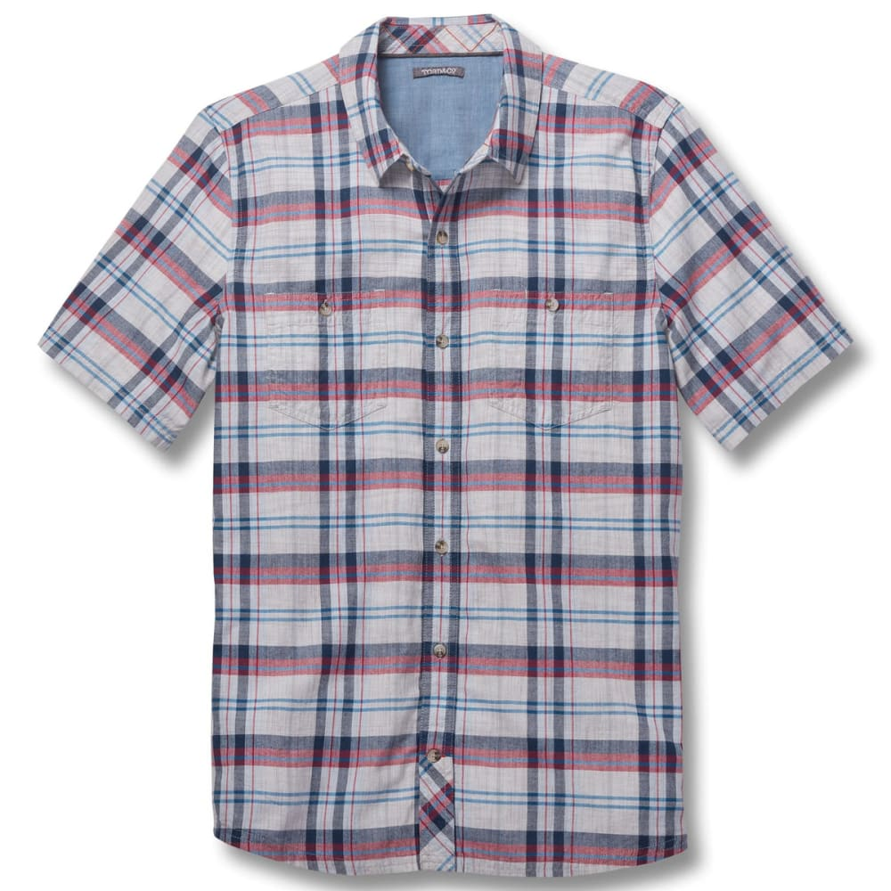 TOAD & CO. Men's Smythy Short-Sleeve Shirt - 119-CHROME