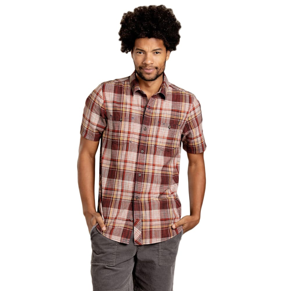 TOAD & CO. Men's Smythy Short-Sleeve Shirt S