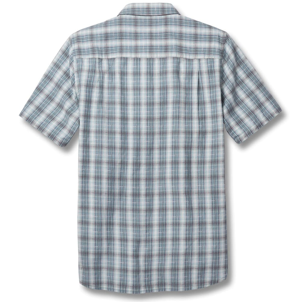 TOAD & CO. Men's Airscape Short-Sleeve Shirt - 259-SMOKE