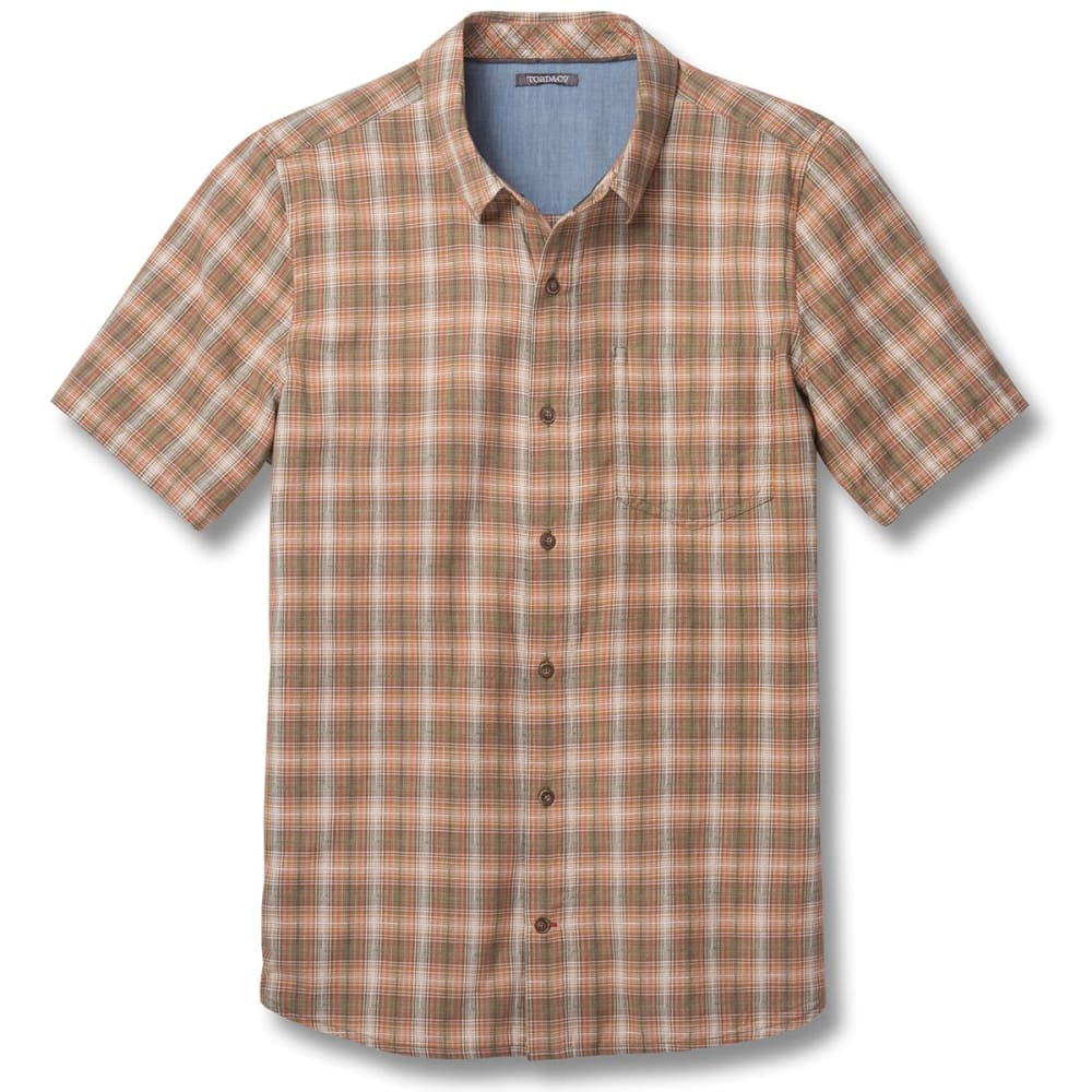 TOAD & CO. Men's Airscape Short-Sleeve Shirt - 308-THYME