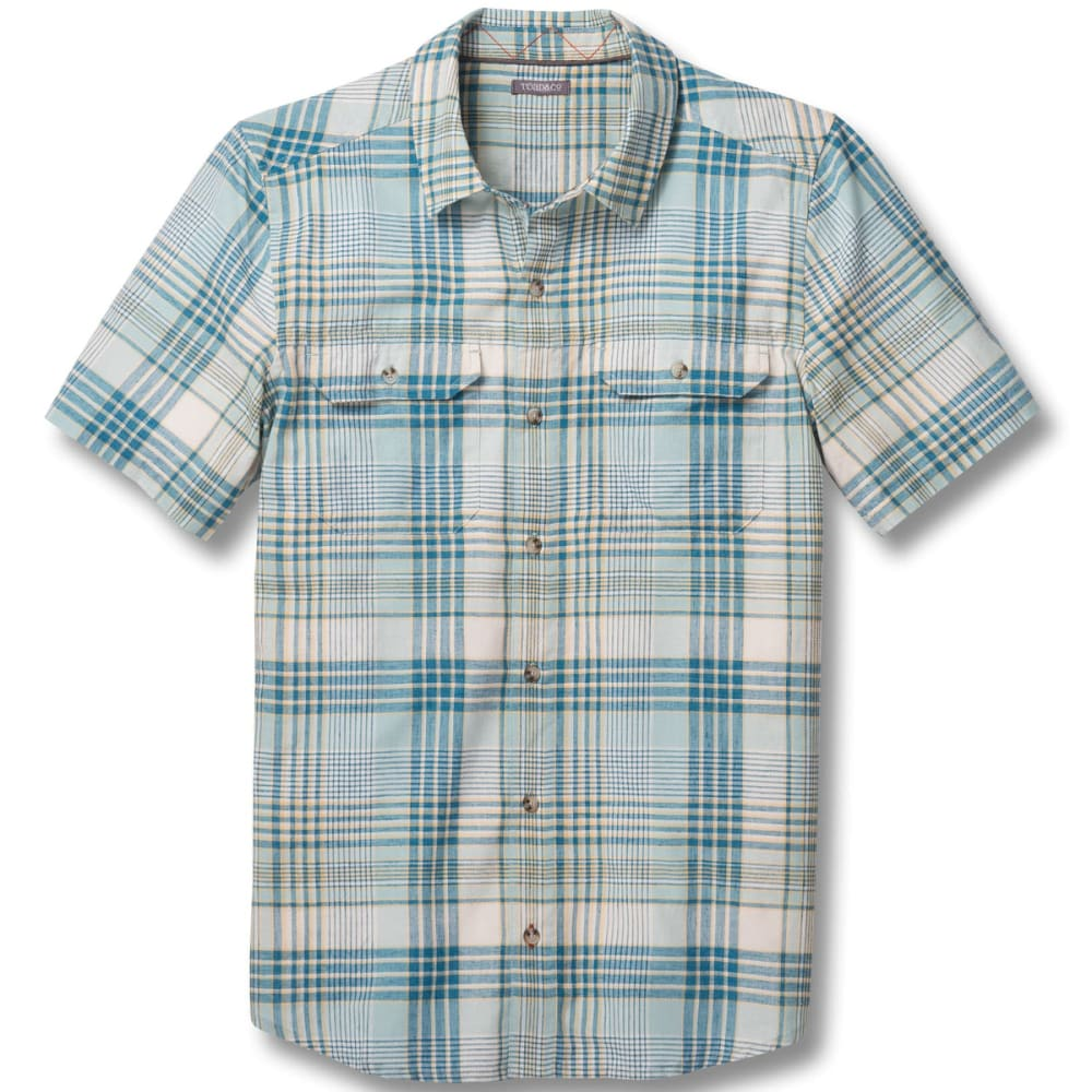 TOAD & CO. Men's Hookline Short-Sleeve Shirt - 055-ARCTIC