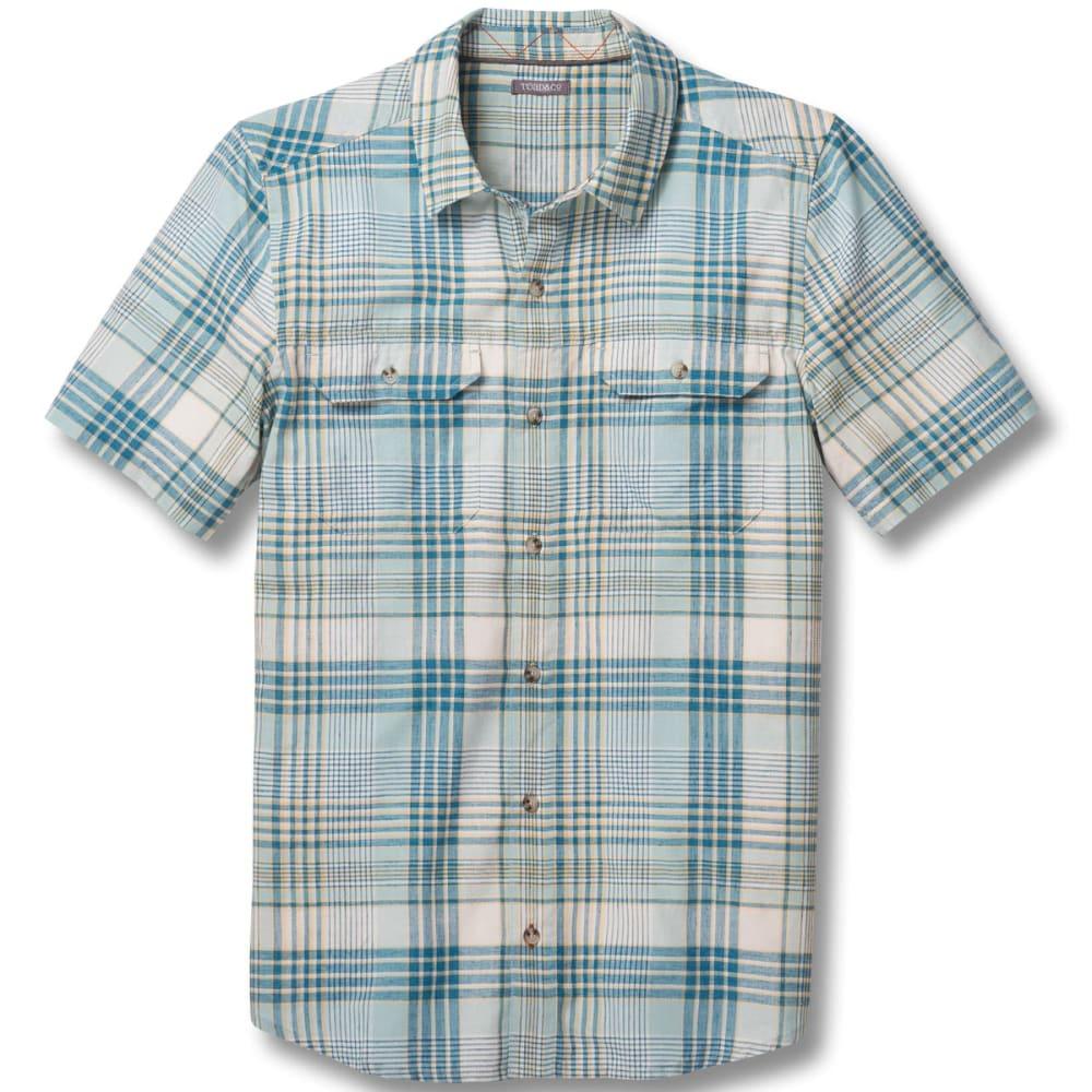 TOAD & CO. Men's Hookline Short-Sleeve Shirt - 055-ARCTIC