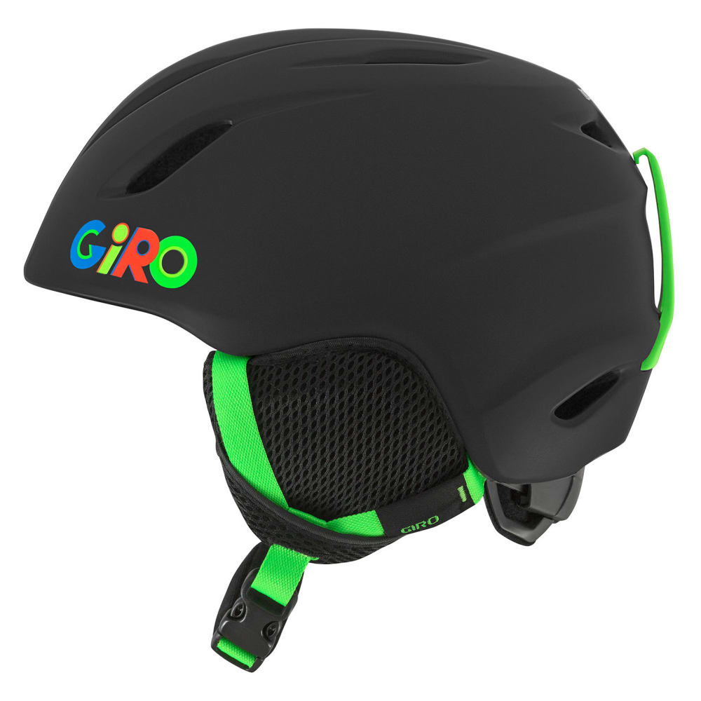 GIRO Youth Launch Snow Helmet - MATTE BLACK WILD